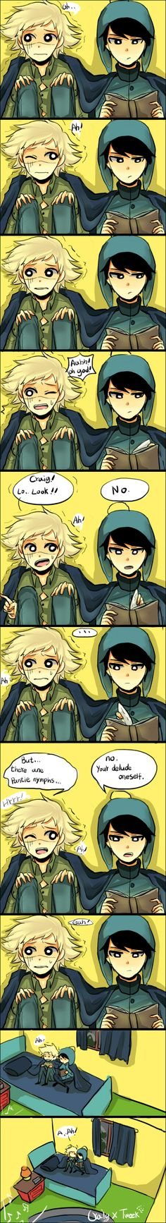 South Park : Craig X Tweek 10 by sujk0823.deviantart.com on @DeviantArt