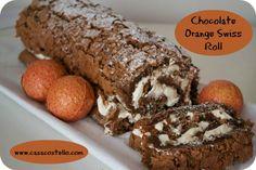 Terry's Chocolate orange Swiss Roll recipe