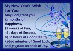 Mu wish for you all