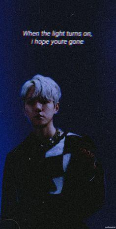 Exo Songs, Baekhyun Wallpaper, Song Lyrics Wallpaper, Exo Album, Exo Lockscreen, Cool Lyrics, Exo Do, Baekhyun Chanyeol, Exo Memes