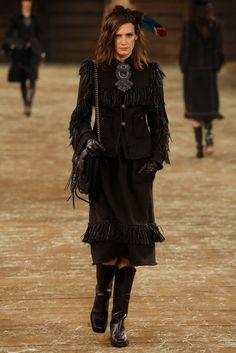 Chanel Pre-Fall 2014 Fashion Show - Drake Burnette
