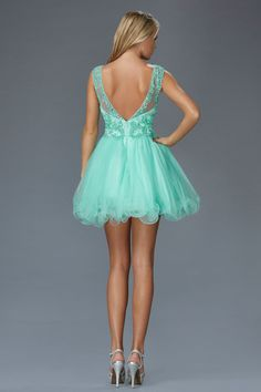G2024 High Neck Homecoming Cocktail Dress
