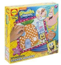 亚马逊:海绵宝宝贴纸马赛克:玩具和游戏