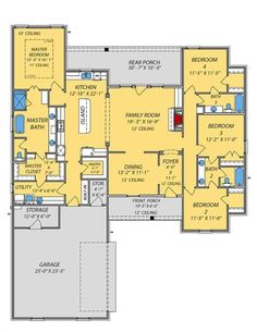 390 Open Floor Plans Welcome To A Home Without Walls Ideas In 2021 Floor Plans House Plans How To Plan