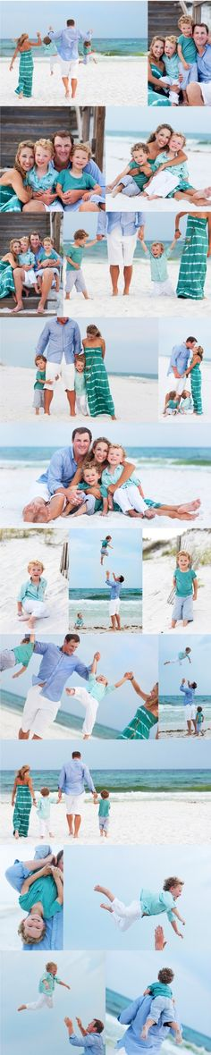 My dream of having beach portraits taken! Beautiful Family Beach Poses family portrait ♥ love the outfit colors! Family Beach Poses, Family Beach Pictures, Family Posing, Beach Photos, Family Pics, Baby Family, Young Family, Baby Pictures, Wedding Pictures