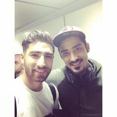 "farsizaban: ""Alireza Jahanbakhsh and Reza Ghoochannejhad Iranian national football team players "" Iran National Football Team, Iran Football, Team Player, Iranian, Persian, Captain Hat, Queen, Celebrities, Beautiful"
