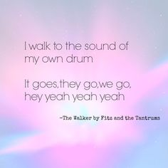 The Walker - Fitz and tantrums