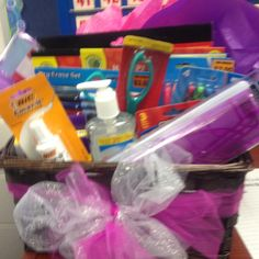 Intern Teacher Basket or Great Teacher Appreciation Idea~