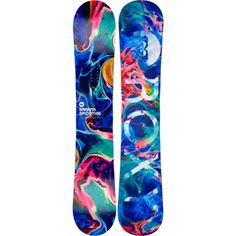 Roxy Banana Smoothie Snowboard - Women's Love this! Snowboarding Style, Snowboarding Women, Snowboard Design, Ski And Snowboard, Freestyle Snowboard, Snowboard Equipment, Snow Gear, Snow Fun, Winter Love