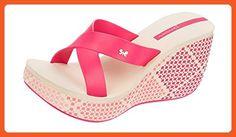 Ipanema Cruise Wedge Womens Flip Flops / Sandals-Pink-9 - Sandals for women (*Amazon Partner-Link)