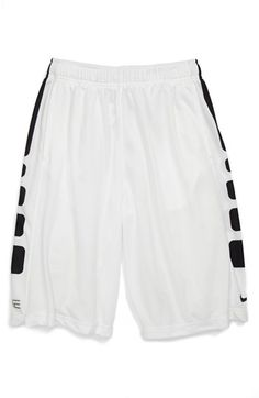 Nike 'Elite' Shorts (Big Boys) available at - Sports wear - Nike Shoes Cheap, Nike Free Shoes, Nike Shoes Outlet, Running Shoes Nike, Cheap Nike, Nike Basketball Shorts, Basketball Shoes, Basketball Outfits, Basketball Playoffs