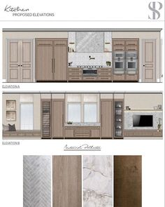 Some of the designs in development for a bespoke kitchen for a new build project in London that one of our senior designers is currently… Interior Design Renderings, Interior Design London, Interior Design Boards, Luxury Interior Design, Interior Architecture, Furniture Design, Deco Restaurant, Interior Design Presentation, Bespoke Kitchens