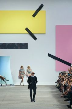 Chanel's Catwalk at Fashion Week