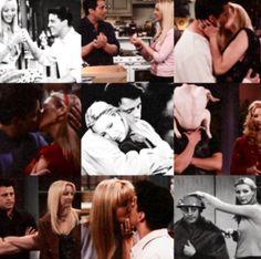 Joey and Phoebe Joey And Rachel, Joey And Phoebe, Friends Phoebe, Friends In Love, Serie Friends, Friends Tv Show, Ross Geller, Joey Tribbiani, Friend Friendship