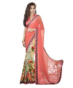 Buy Now Peach with Printed Skirt Georgette Fancy Festival Wear Saree With Fancy Fabric Blouse only at Lalgulal. Price :- 1,912/- inr To Order :- www.lalgulal.com/sarees/peach-with-printed-skirt-georgette-fancy-festival-wear-saree-391  COD & Free Shipping Available only in India