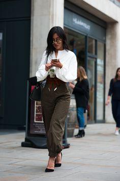 SS17 London Fashion Week streetstyle