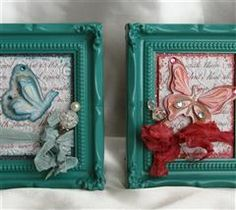 Create miniature art for your home to help welcome spring.  #imadeit #cricut