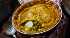 Pie On Life! Scallop Pie Recipe, Easy Pie, Simple Pie, It's Easy, Cooking Time, Cooking Recipes, Butter Pastry, Individual Pies, Good Pie