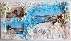 loving Greece *Imaginarium Designs* - Scrapbook.com