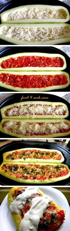 Stuffed Zucchini - Joybx