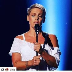 your voice heal my heart ... and yes,  the wild, strong hearts can't be broken. Once again, thank you P!nk #Grammys2018 #Pink