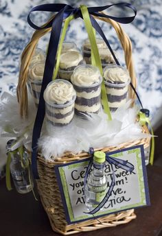 Gift baskets!!!  I love mailing baked goods. Haven't done it much, but know I'd love to receive them!