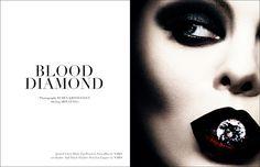 Blood Diamond // VESTAL Magazine on Behance