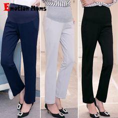 1d4f25878ccd2 Emotion Moms Maternity Clothes Maternity Pants&Capris pregnancy Pants  Maternity trousers For Pregnant Women Pregnancy