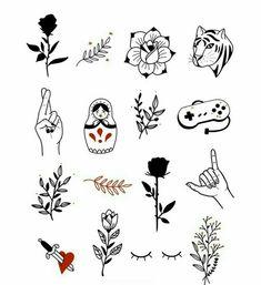 Mini Tattoos, Body Art Tattoos, Small Tattoos, Tatoos, Doodle Tattoo, Doodle Art, Tattoo Sketches, Tattoo Drawings, Cute Tats