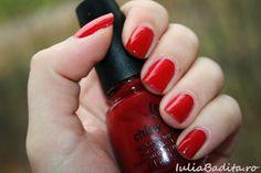Red Satin - China Glaze