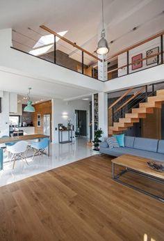 Dream Home Design, Modern House Design, Modern Interior Design, Home Living Room, Living Room Designs, House Extension Design, Model House Plan, Home Building Design, Small House Plans
