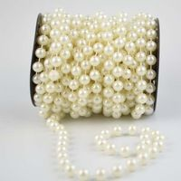 12mm ivory pearl beads String / Garland for wedding decor accessories 6Meter / roll  -Free shipping Diy Party Decorations, Christmas Tree Decorations, Pearl Garland, Ivory Pearl, Cherry Tree, Pearl Beads, Decorative Accessories, Party Supplies, Pearls