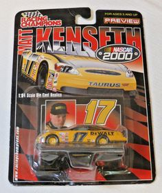 Nascar #17 Matt Kenseth 2000 Racing Champions 1:64 scale die cast car Replica #RacingChampions #17