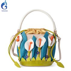 Messenger Bag flowers style 3D Lilies stylefashion Sweet white flowers PuArtgifts Like and share if you think it`s fantastic! #shop #beauty #Woman's fashion #Products #homemade