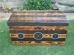 Handmane Furniture : Storage-ChestTool Tack by Winkswoodsandknifes