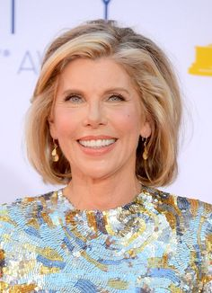 Christine Baranski... Loved her in The Grinch and Mamma Mia, she's also awesome in The Good Wife!