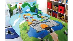 Dragon Castle Quilt Cover Set