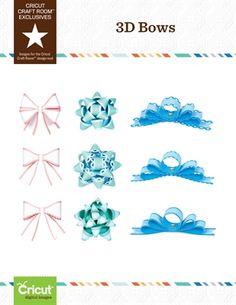 Melody Lane Designs: 3D Bows