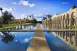 Palais Namaskar in Marrakech, Morocco  ...on more than 12 acres of pristine seclusion, tranquil lakes, and inspiring panoramas, unrivalled spaciousness, personal freedom, and majestic grandeur create an extraordinary experience. Grand opening offer. Book prior to 6th April, - Confirmed hotel room upgrade - VIP welcome -Transfer in a private chauffeur-driven car - American b-fast served on your own terrace - Personal appt. with Wellness consultant & voucher (€100) for Spa.