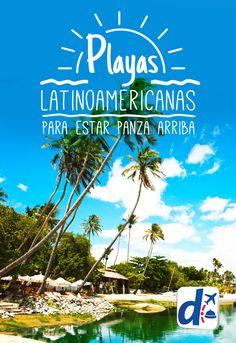 Te invitamos a conocer algunas #playas imperdibles para relajarte al máximo!!