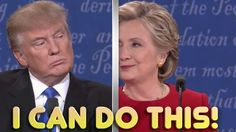 Donald Trump Vs Hillary Clinton- Lip Reading Version Of Presidential Debate Funniest Thing in the world Credits: Bad Lip Reading Team ❤️ Support this channel. Trump Vs Hillary, Donald Trump, Presidents, Comedy, Lips, Music, Funny, Youtube, Reading 2016