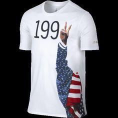 Nike Air Jordan Retro 1992 Dream Team USA Olympic Basketball XL Shirt  823308-100  Nike  ShirtsTops eb11d763bb4a