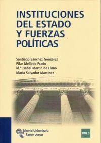 Instituciones del estado y fuerzas políticas. Universidad Nacional de Educación a Distancia, 2011.