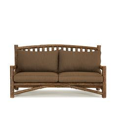 Rustic Sofa #1228 (shown in Natural Finish) by La Lune Collection