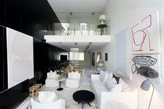 Dit smalle appartement is dankzij de kastenwand ruimer dan je denkt - Roomed