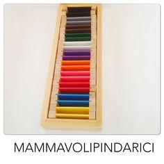 Tavole dei colori #Montessori. Scatola 2