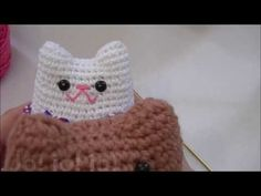 """Free crochet patterns for the cutest Valentine's Day animals ever! Say """"I love you"""" with these sweet amigurumi. Make one for your loved one to snuggle with this Valentine's Day! Crochet Gratis, Crochet Dolls, Free Crochet, Bear Valentines, Little Valentine, Pink Cheeks, Crochet Bookmarks, Heart Pillow, Little Bow"""