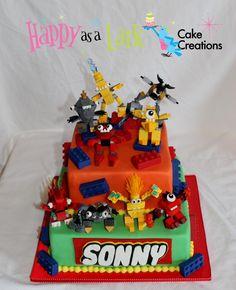 Lego Mixels cake