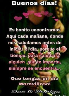 Buenos Días Querid@s Amig@s Un feliz y bendecido Martes para todos ! - Alba vargas - Google+