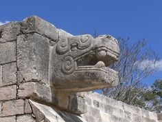 Chichen Itza was a large pre-Columbian city built by the Maya people of the Post Classic